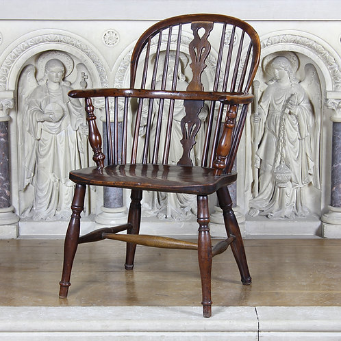 Children's Yew wood and Elm Windsor Chair