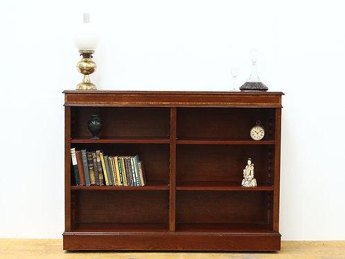 Edwardian Style Mahogany Bookcase