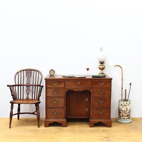 Georgian Mahogany Knee Hole Desk