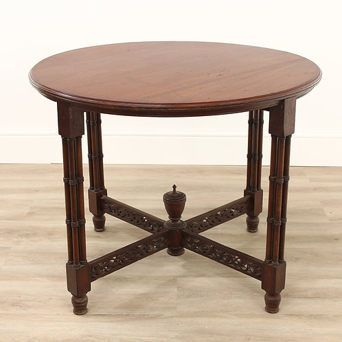 Late Victorian Mahogany Round Table