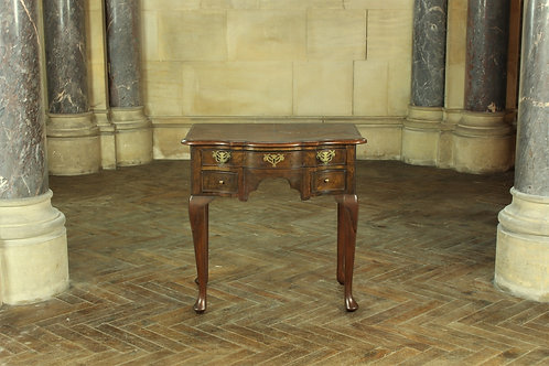 Early Victorian Burr Walnut Lowboy