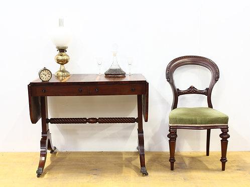 Georgian Style Rosewood Sofa Table