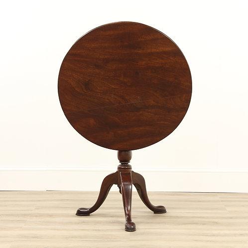 George 3rd Mahogany Snap Top Table