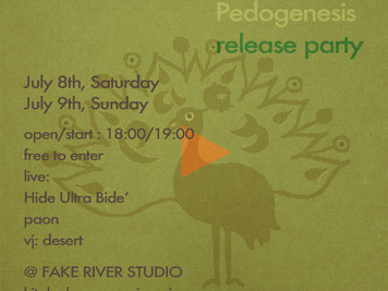 "「paon 2nd album""Pedogenesis"" release party」"