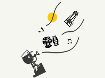 「北インド古典音楽ライブ〜サーランギーとタブラ〜」