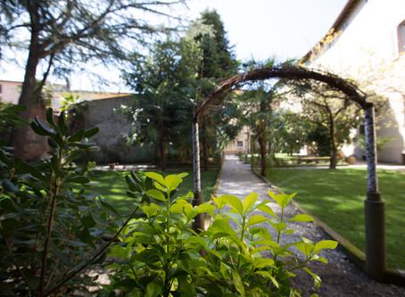 il giardino del Convictus vi aspetta!!