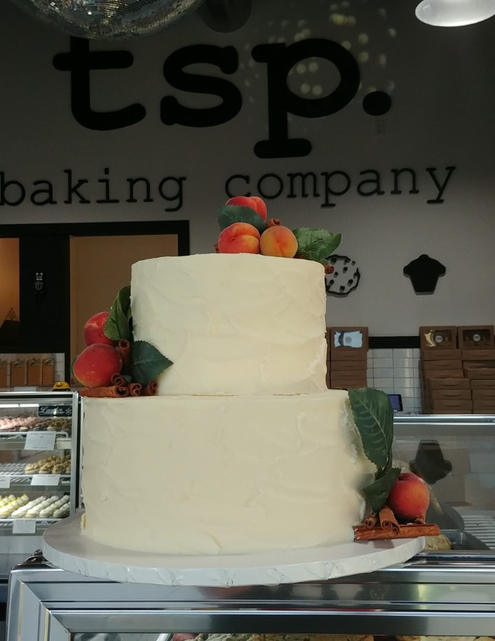 rustic wedding cake with apricots.jpg