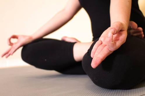 Postura meditativa