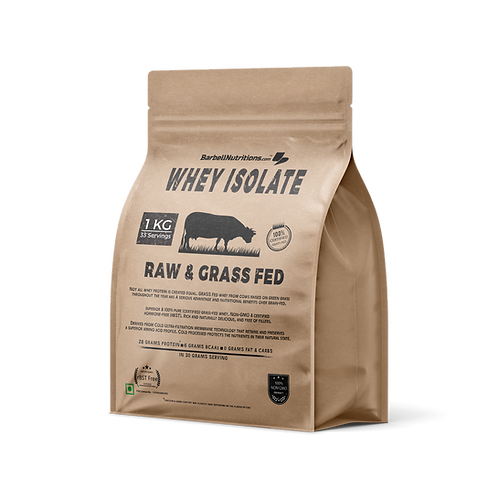 BN Grass Fed Whey Isolate