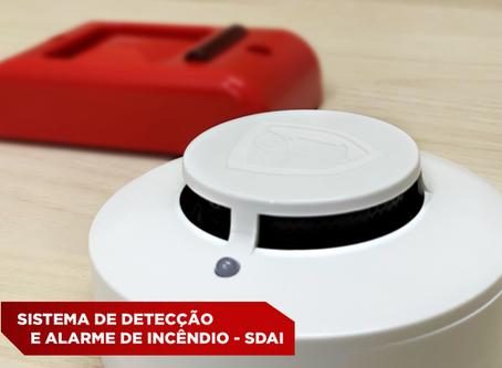 Sistema de detecção e alarme de incêndio – SDAI