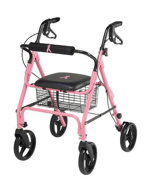 Pink - Breast Cancer Awareness Rollator