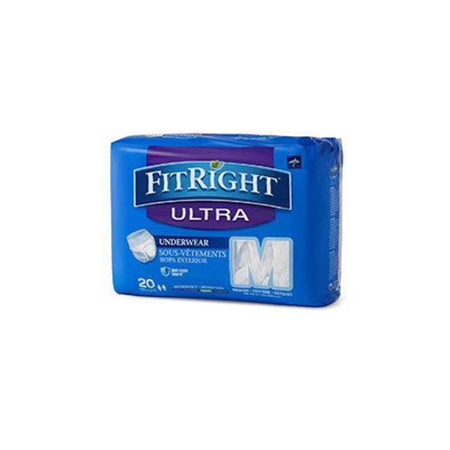 """FitRight """"Ultra"""" Underwear, Pullups (80 per case)"""