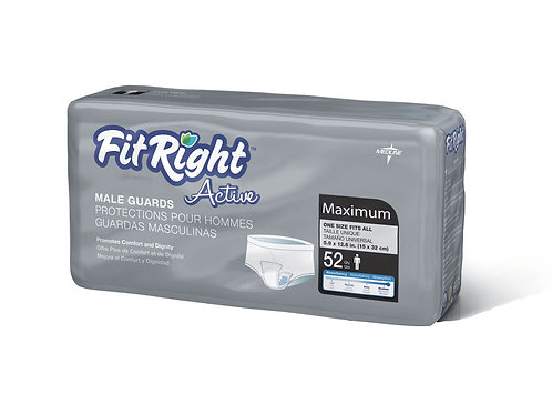 FitRight Active Liner Males Guard (52 per bag)
