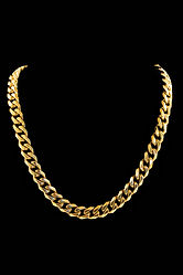 Cali & Co. sells a variety if different chains including gold chains