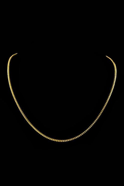 10K Gold Franco Chain