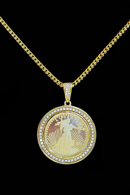 Liberty Coin Pendant