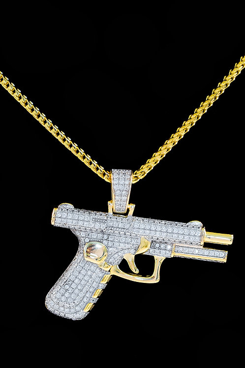 Micro Pistol Pendant