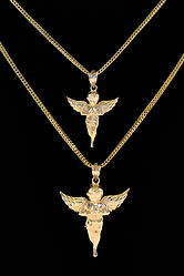 Cali & Co. sels a variety of solid gold jewelry including gold chains