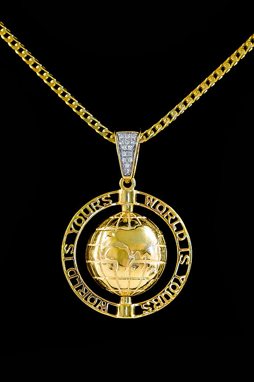 The World Is Yours Pendant