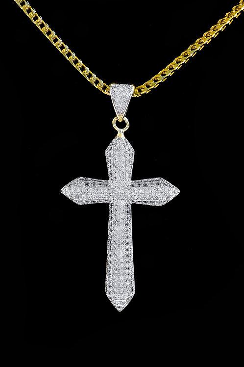 Micro Cross Pendant