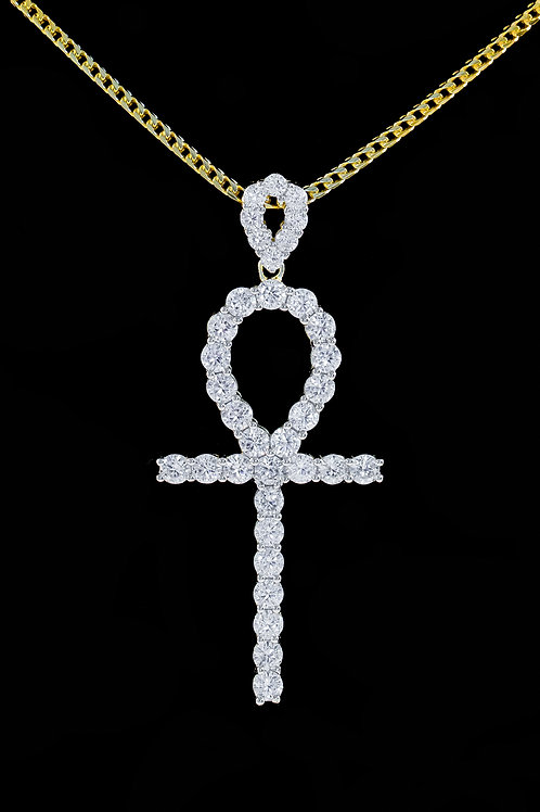 Diamond Ankh Pendant