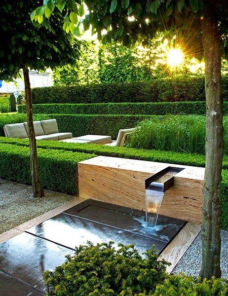 Interior Leaf Pond & Fountation Ideas