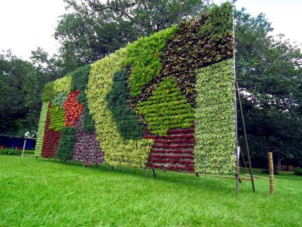 Vertical_Garden_during_Lalbagh_Flower_shInterior Leaf Vertical Garden Ideas
