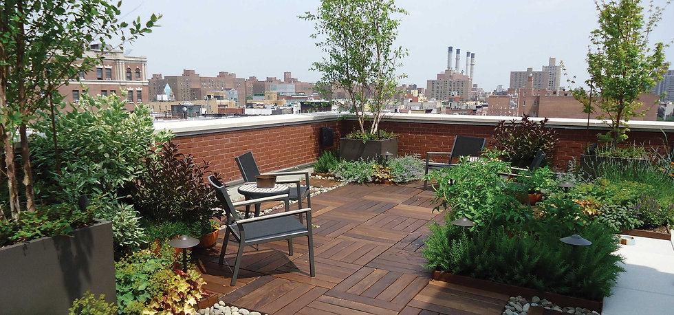 Interior Leaf Rooftop Garden Ideas