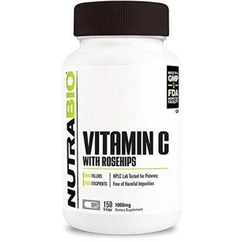 Vitamin C + Rose Hips 1000mg