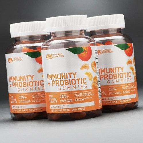 ON Immunity + Probiotic 30 Gummies  Tangerine
