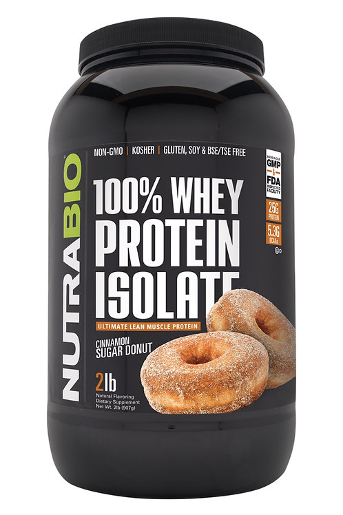 Whey Protein Isolate 2 lb - NB