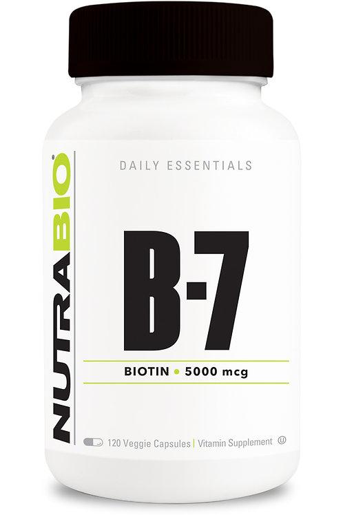 Biotin 5000mcg - 120cps -NB