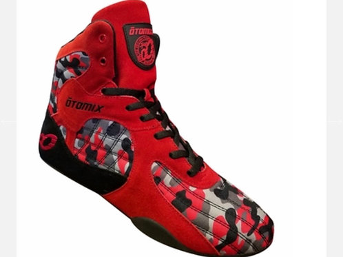 Otomix Shoes - Red Camouflage Stingray Male
