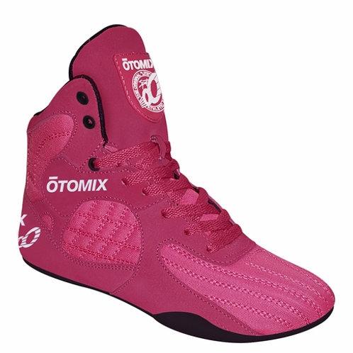 Otomix Shoes -Female Pink/Black Stingray