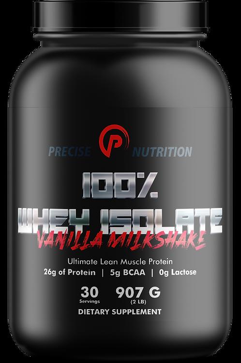 100% Whey Isolate - 2lb