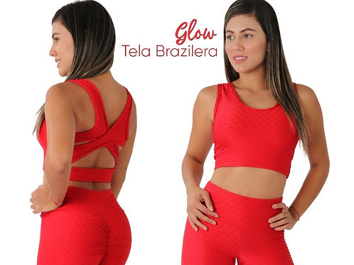 Short Glow Push Up W/ Top- One Size Fits All