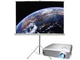 מקרן  HD 3000 + מסך