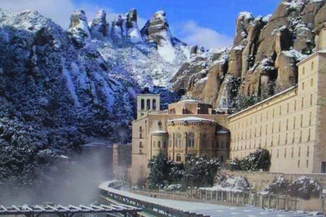 Montserrat...serrated mountain
