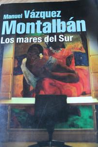 Spanish Book Club: Los Mares del Sur by Manuel Vazquez Montalbán