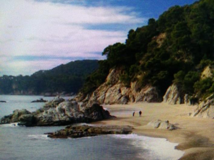 Sexy naked winter beaches on the Costa Brava