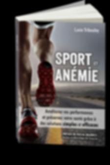 Couverture livre Sport et anémie