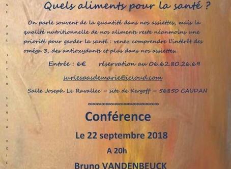 Salon Zen et Bien-être  - Conférences du 21/09 et 22/09/2018