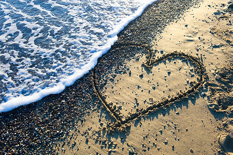 A heart drawn in sand on a beach.jpg