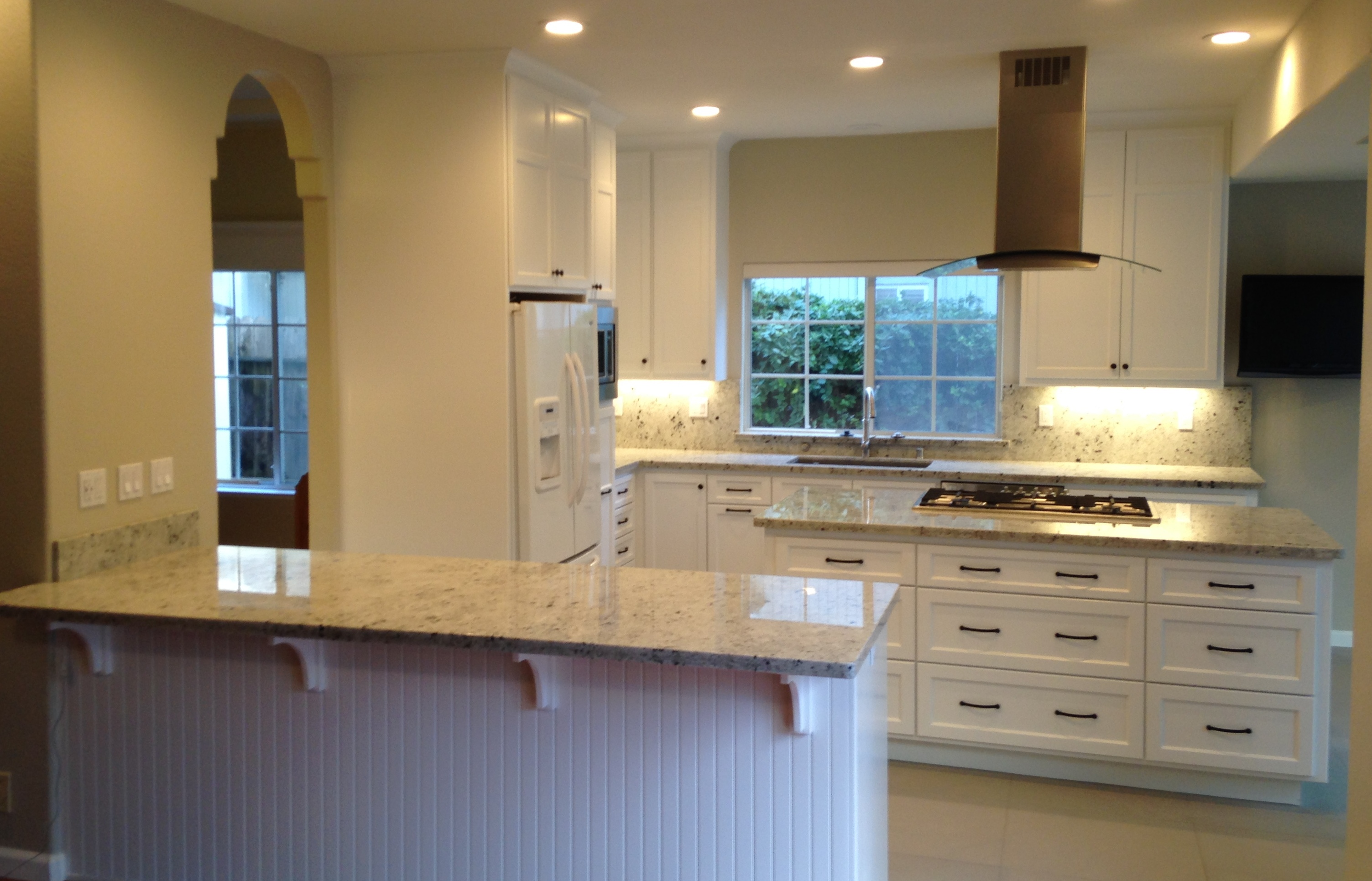 Kitchen Remodel in White