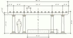 Pergola Planning 2D