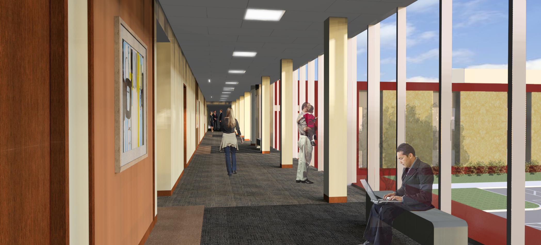 Hallway View 1-1