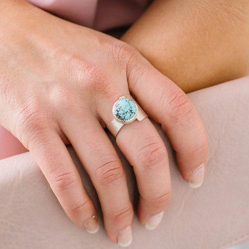 Asymmetrical Turquoise - Size 9