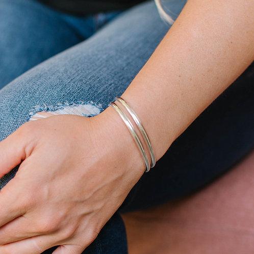 6 ga. Smooth Bracelet Cuff