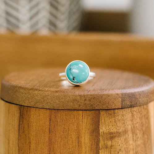 Simple Hubei Turquoise - Size 7