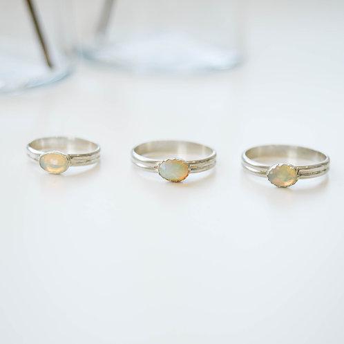 Opal/Double Band - Multiple Sizes